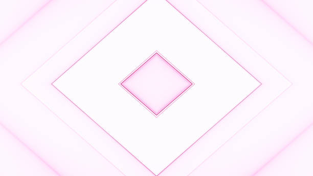 Rhombus or diamond geometrical background. Abstract soft colored square geometric design. stock photo