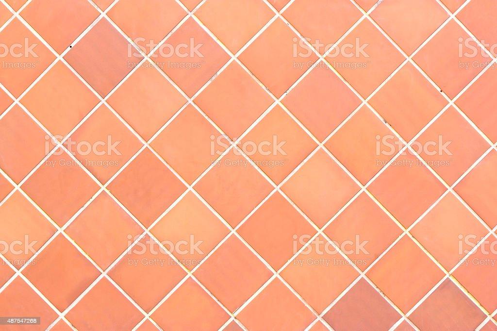Rombo de azulejos de pared - foto de stock