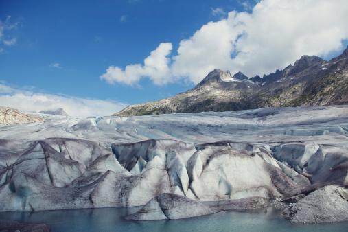 Rhone Glacier Furka Pass, Switzerland, Swiss Alps