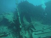 RMS Rhone Wreck in The British Virgin Islands