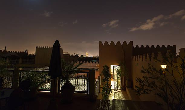 Riad Marrakesh stock photo