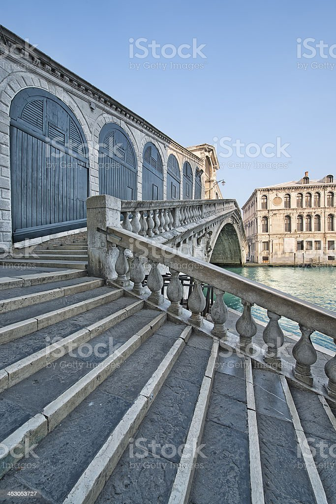 Rialto Bridge (Venice) royalty-free stock photo