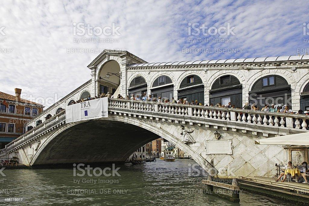 Rialto Bridge royalty-free stock photo