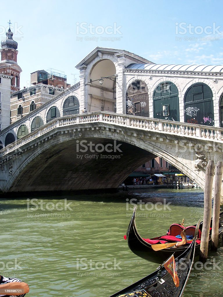 Rialto Bridge - Venice stock photo