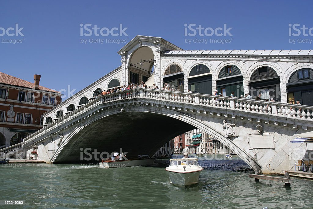 Rialto Bridge - Venice royalty-free stock photo