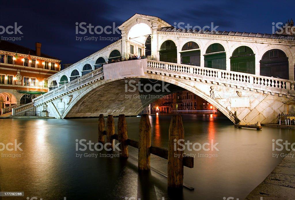 Rialto Bridge - Venice royalty-free stock photo