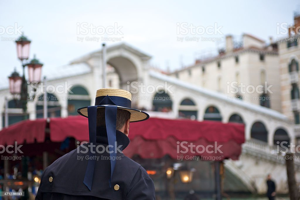 Rialto Bridge, Venice royalty-free stock photo