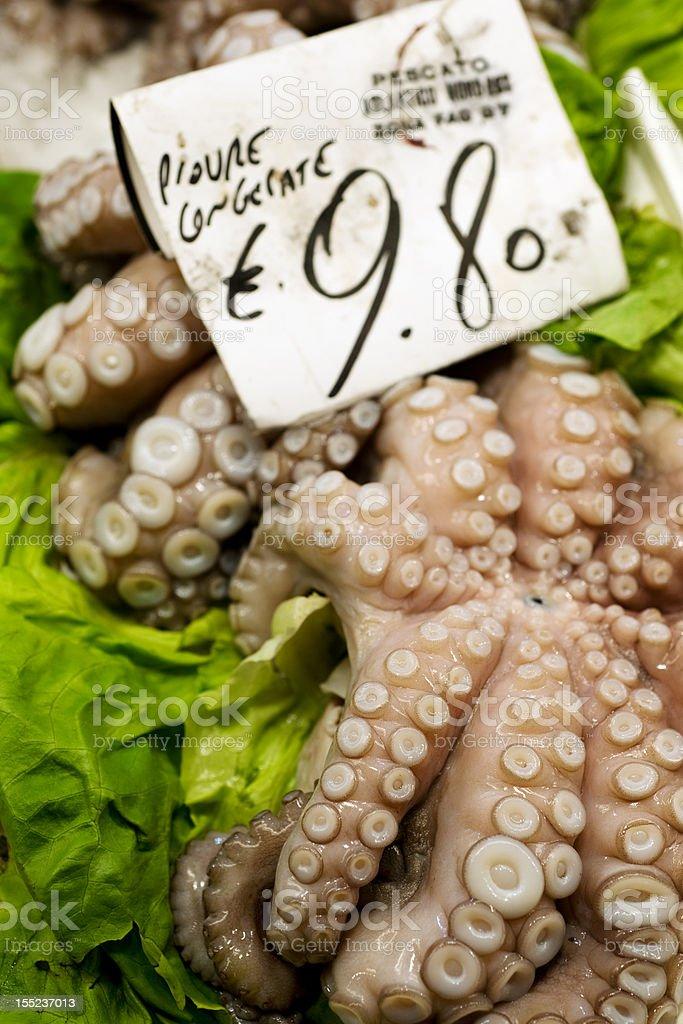 Rialto Fish Market royalty-free stock photo