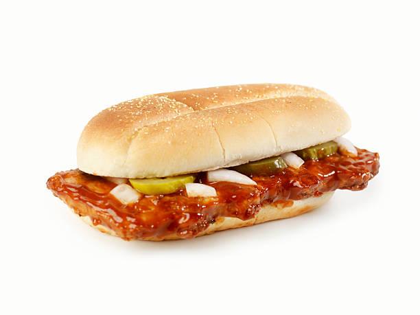 Rib Sandwich stock photo