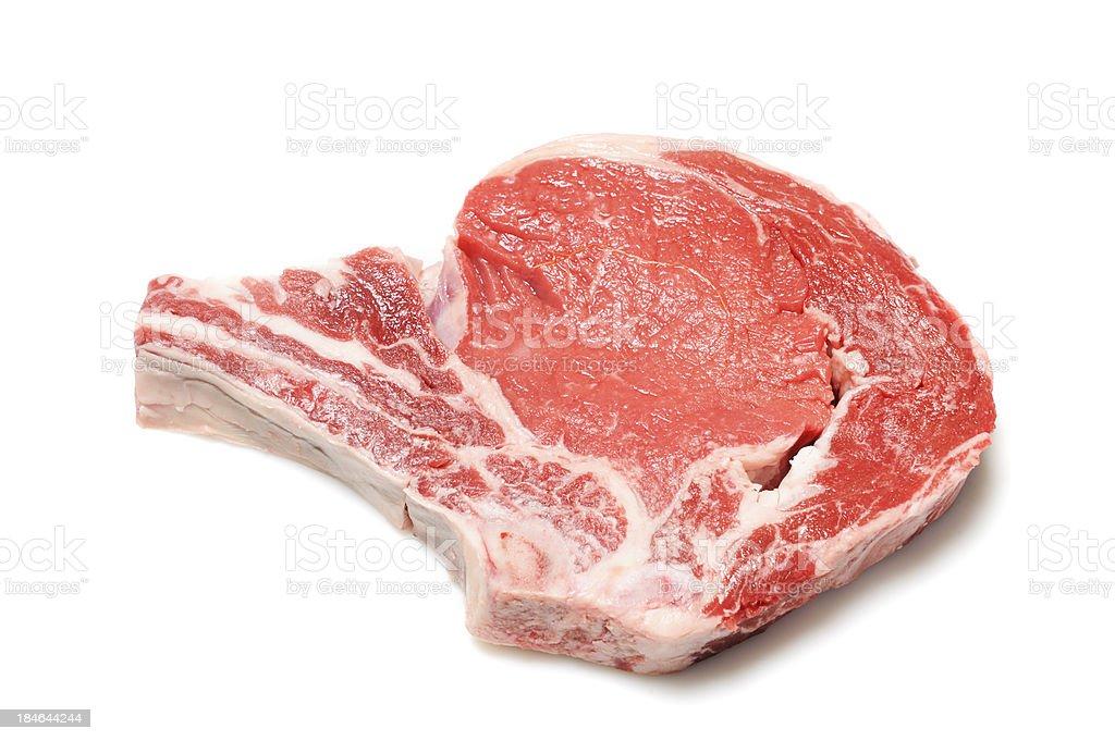 Rib steak stock photo