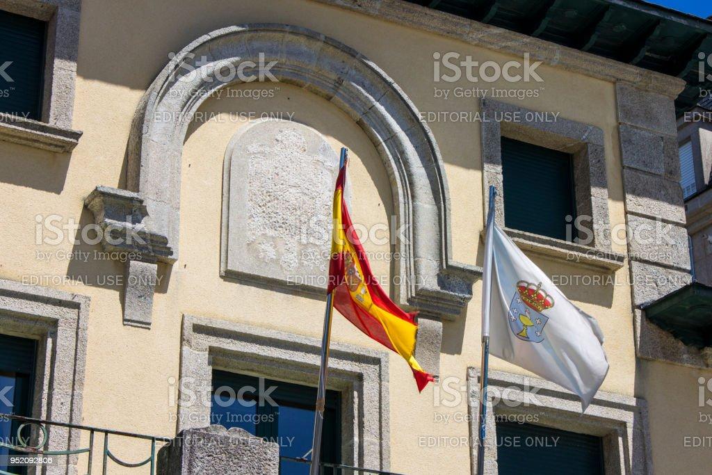 Ribadeo, Galicia, Spain stock photo