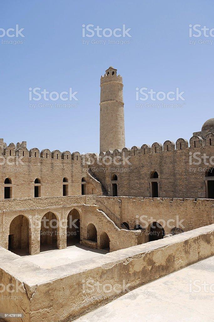 Ribat in Sousse, Tunisia royalty-free stock photo