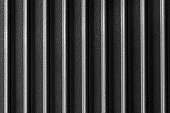 ribbed cast iron surface