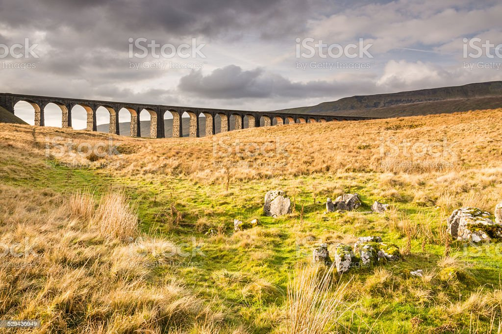Ribblehead Railway Bridge stock photo