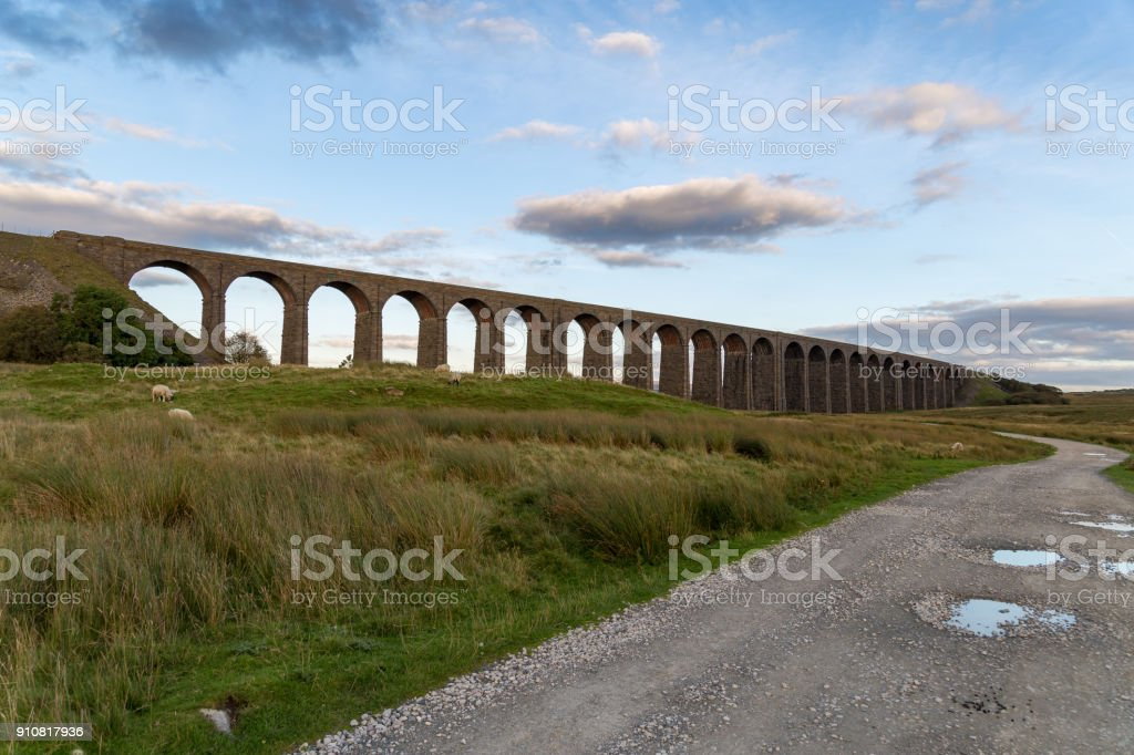Ribblehead Viaduct, North Yorkshire, UK stock photo