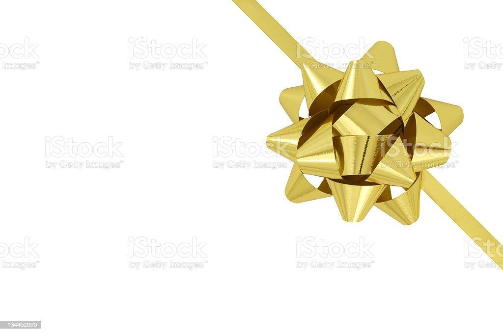 ribbon and bow royalty-free stock photo