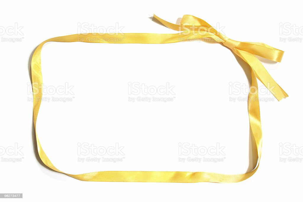Ribbon Border royalty-free stock photo