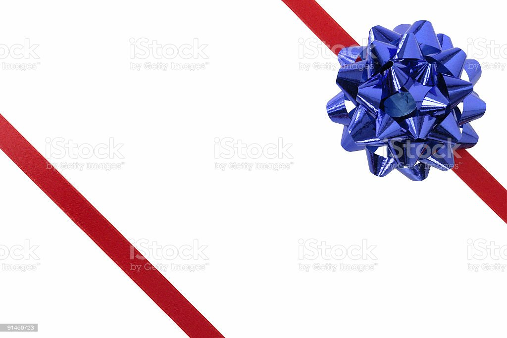 Ribbon & Bow royalty-free stock photo