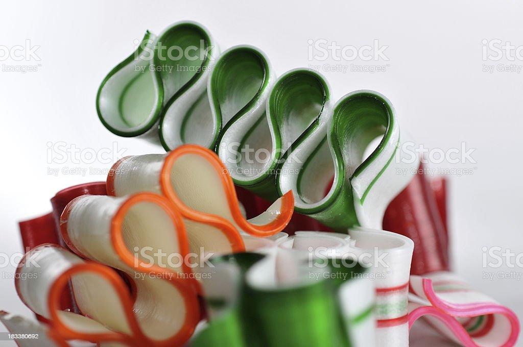 Ribbon Candy royalty-free stock photo