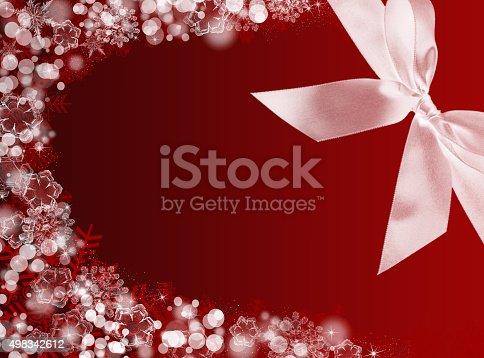 1020742072istockphoto Ribbon Christmas background. New Year background 498342612