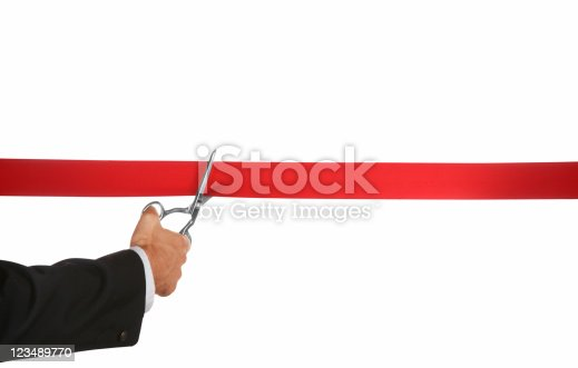 istock ribbon cutting 123489770