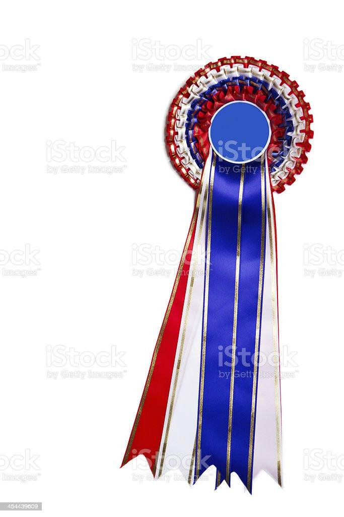 Ribbon for winner stock photo