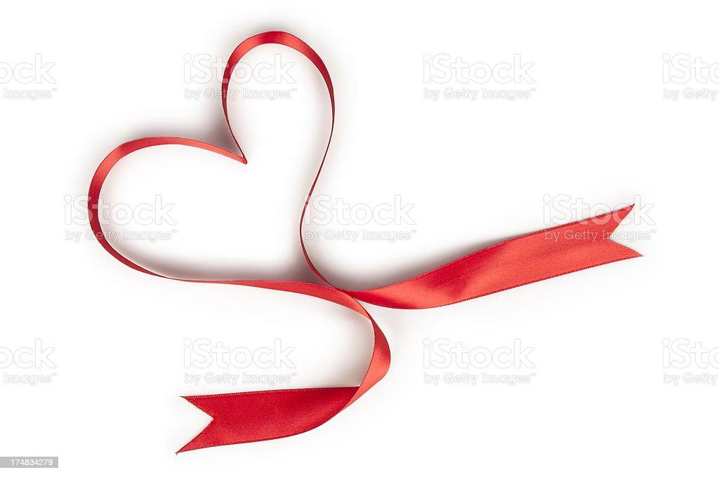 Ribbon in love royalty-free stock photo