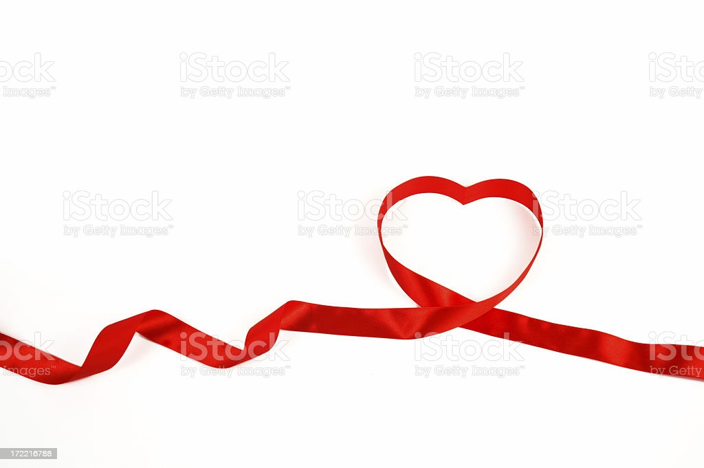 Ribbon of Love royalty-free stock photo