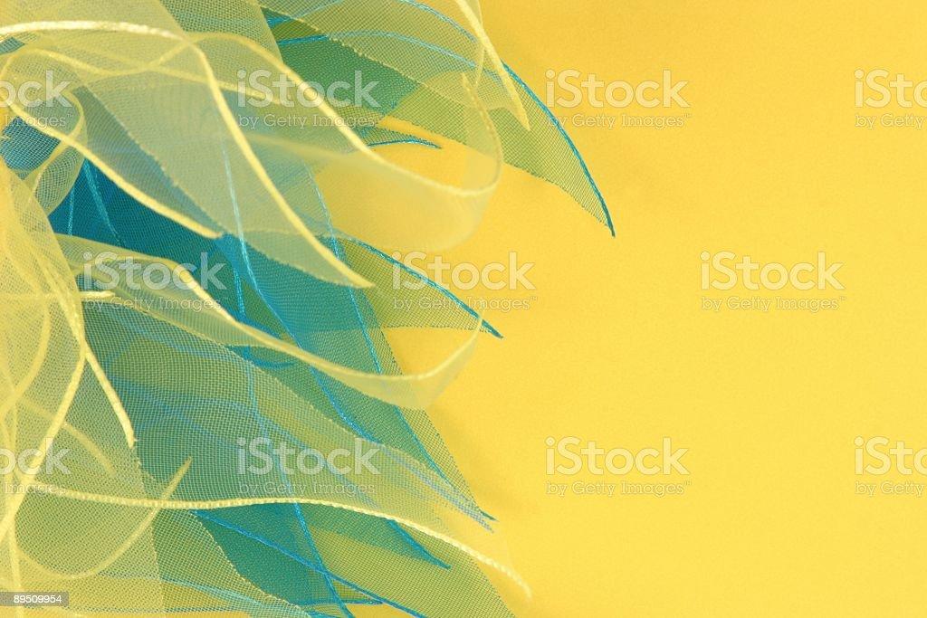 Ribbon & Paper royalty-free stock photo