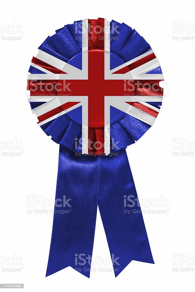 UK ribbon royalty-free stock photo