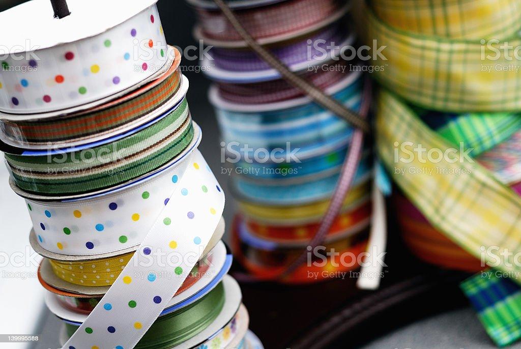 Ribbon Stacks royalty-free stock photo