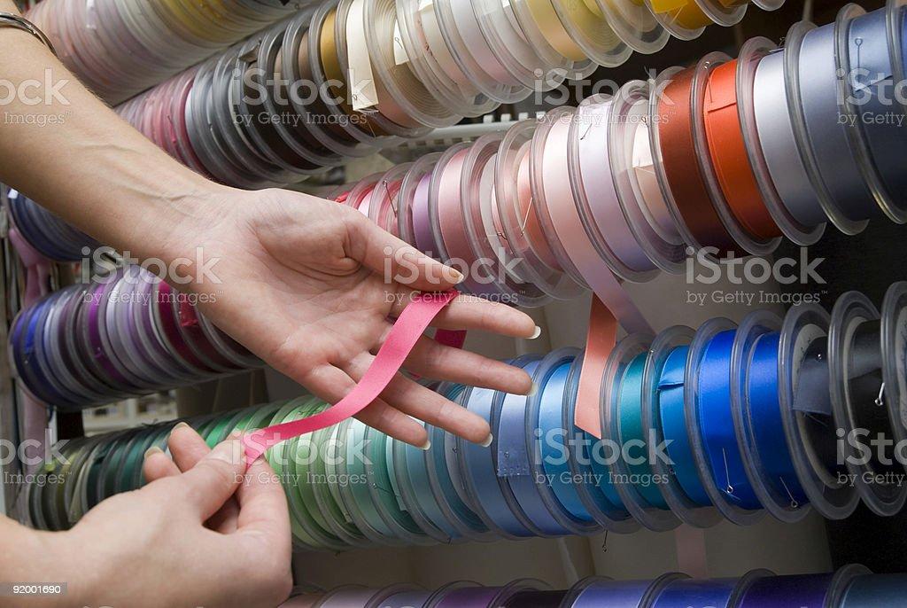 Ribbons colors royalty-free stock photo