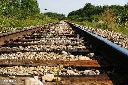 Abandoned railway.
