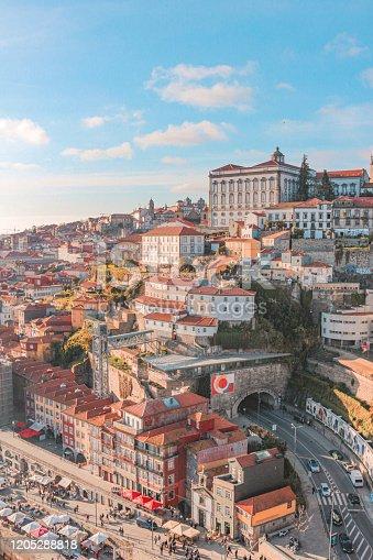Ribeira, city of Porto in Portugal in Porto, Porto District, Portugal