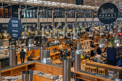 Mercado da Ribeira (also known as Mercado 24 de Julho) is Lisbon's main food market since 1892. It is Lisbon's biggest fresh food market and has become a firm favourite among Lisboans.