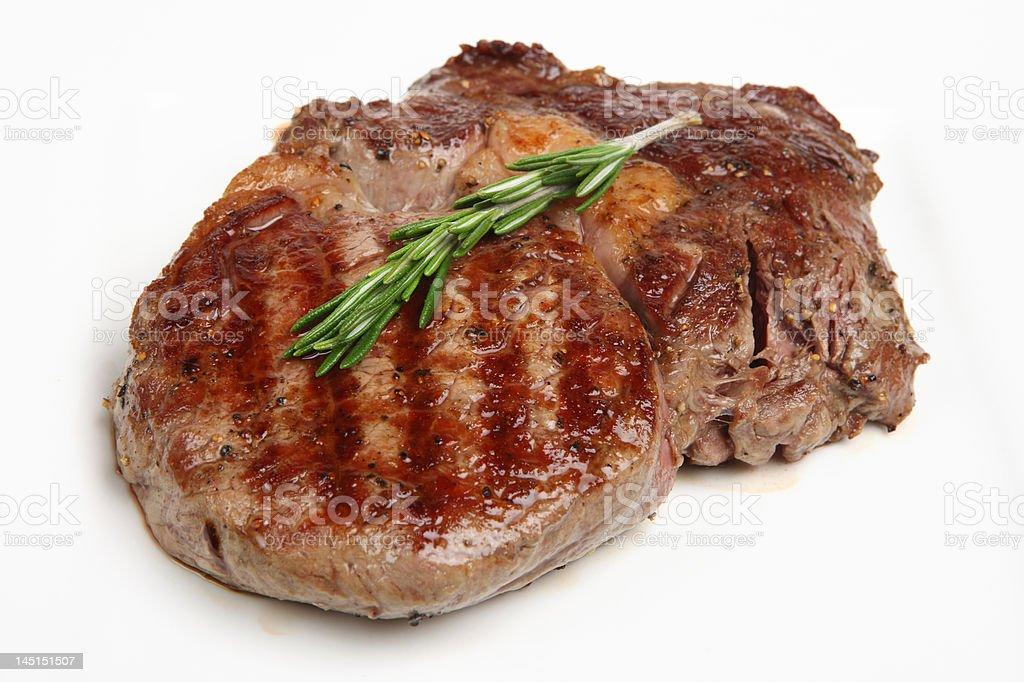 Rib-Eye Steak royalty-free stock photo