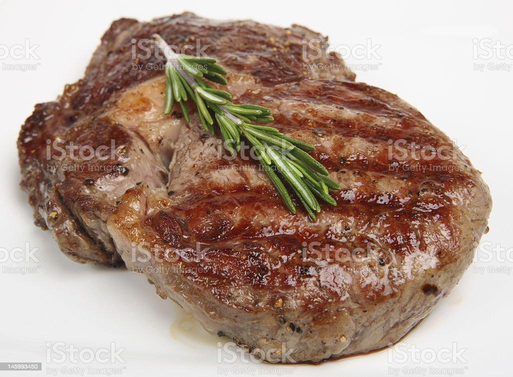 Rib-Eye Steak stock photo