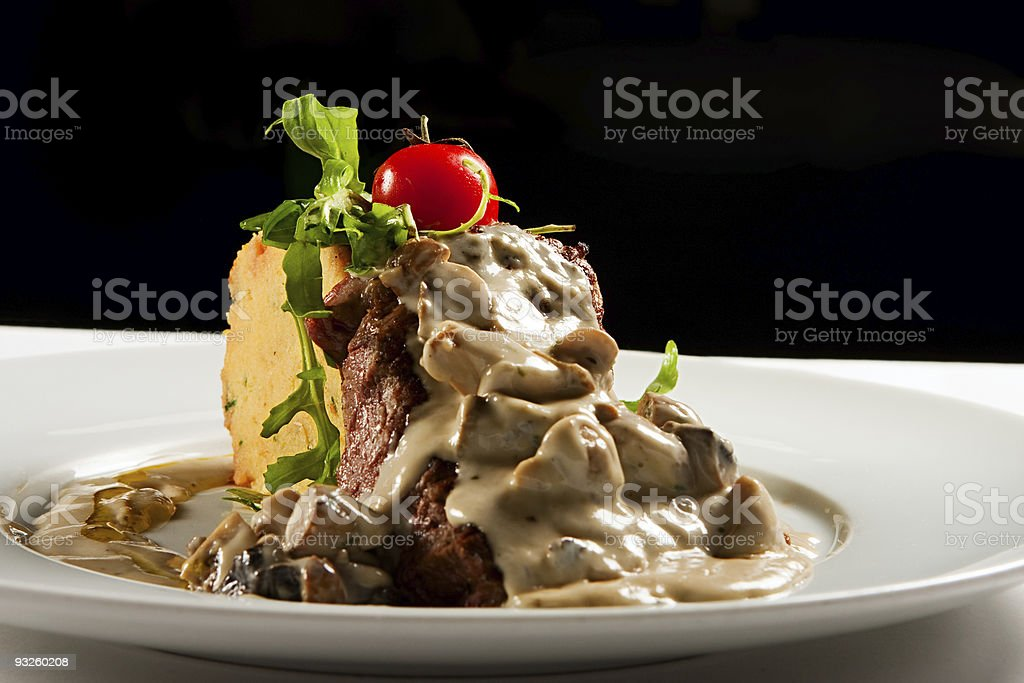 ribeye steak royalty-free stock photo