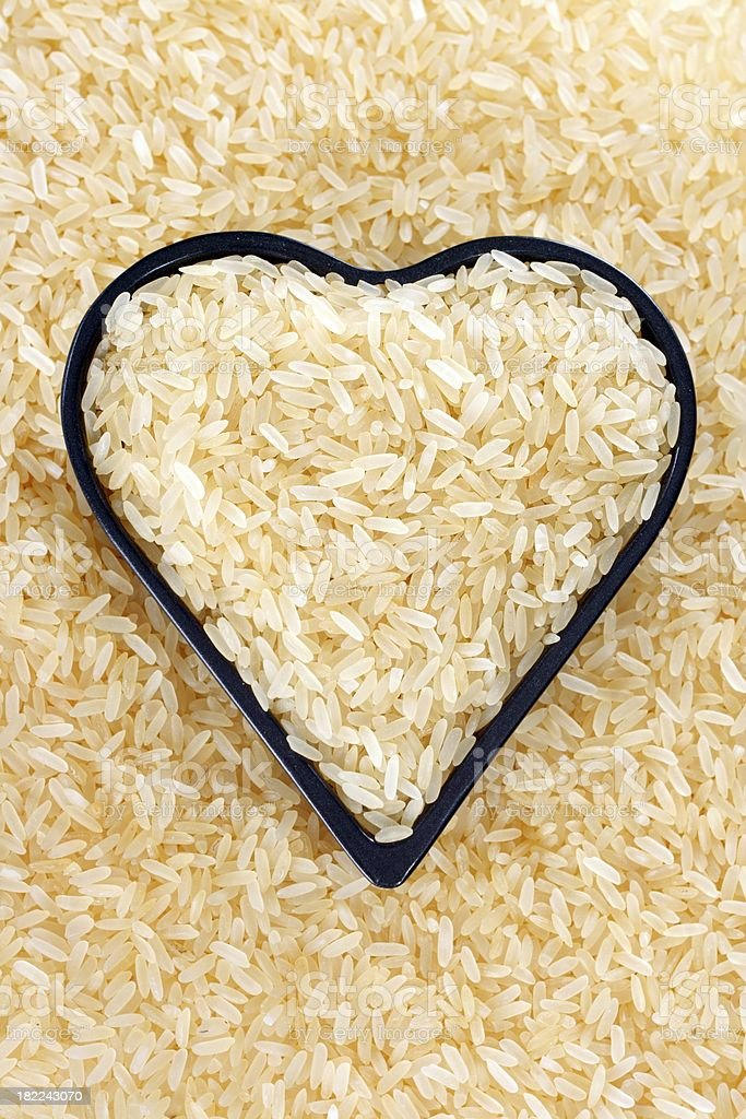Rice background royalty-free stock photo