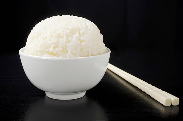 ライスボウル、箸 - ご飯茶碗 ストックフォトと画像