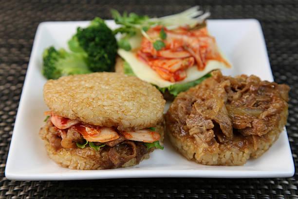 Rice burger – Foto