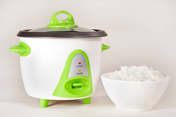Rice Cooker stock photo
