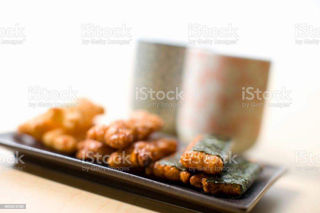 Rice cracker foto stock royalty-free