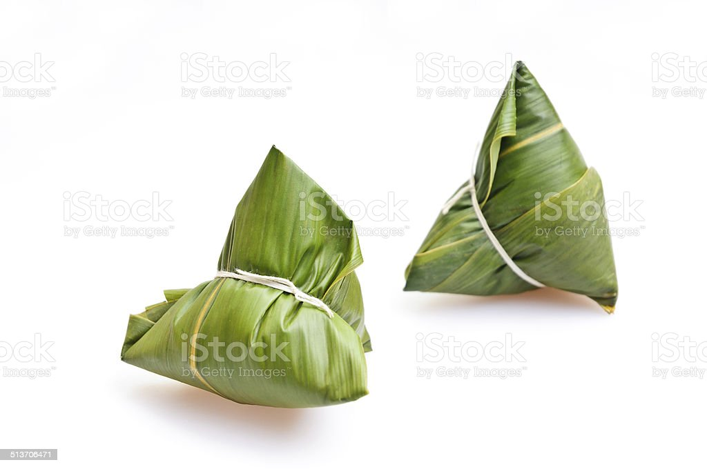 rice dumplings, Chinese Traditional food stock photo
