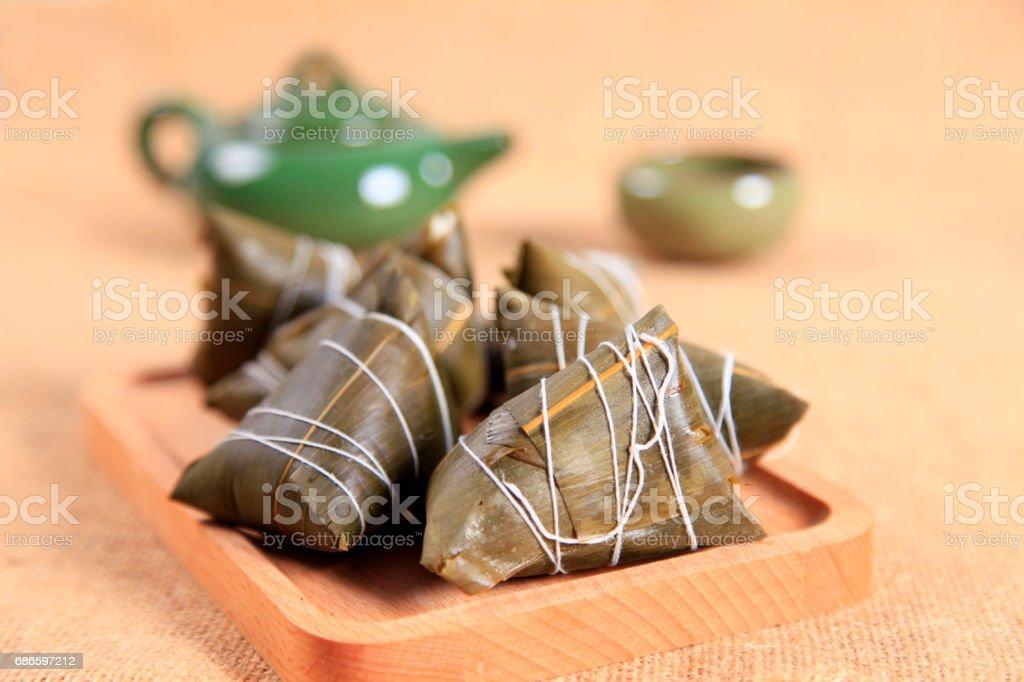 Rice dumplings royalty-free stock photo