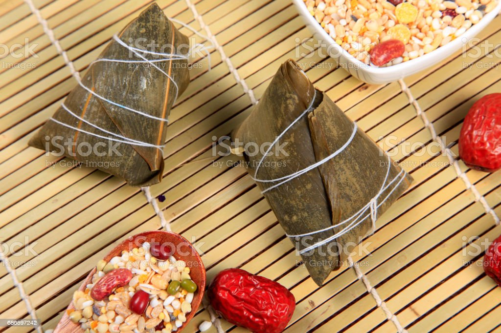 Rice dumplings royalty-free stock photo