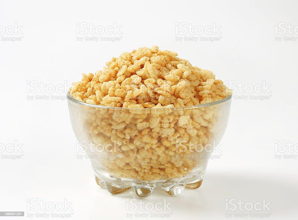 Rice krispies stock photo