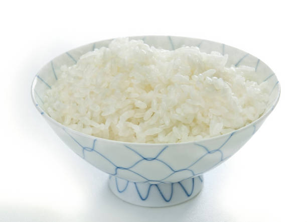 稲穂 - ご飯茶碗 ストックフォトと画像