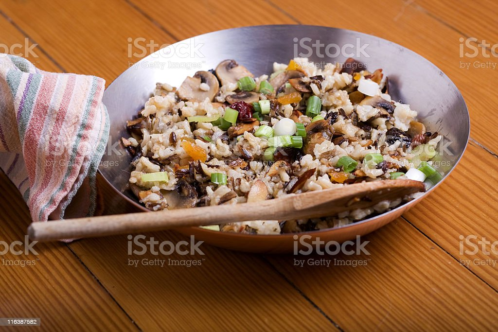 Rice Pilaf stock photo