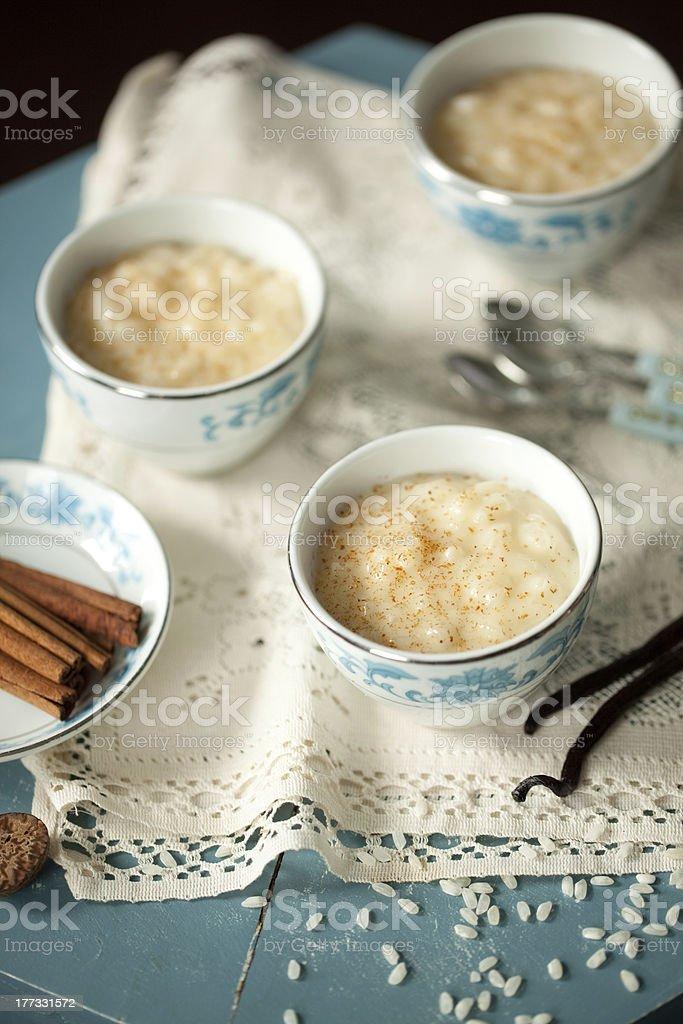 Pudim de arroz - foto de acervo